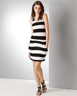 bcbg_max_azria_striped_racerback_dress
