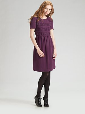 burberry_smocked_silk_georgette_dress