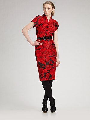dior_belted_silk_faille_flower_print_dress