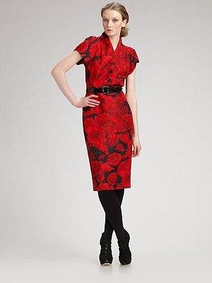 dior_belted_silk_faille_flower_print_dress