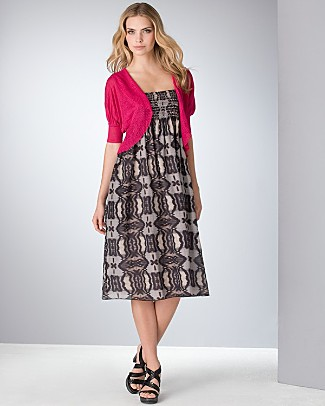 dkny_shrug_with_ruffle_print_dress