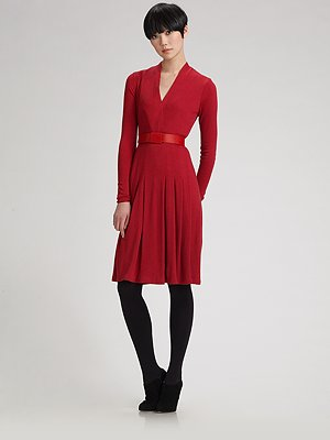 akris-belted-cashmere-silk-jersey-v-neck-dress