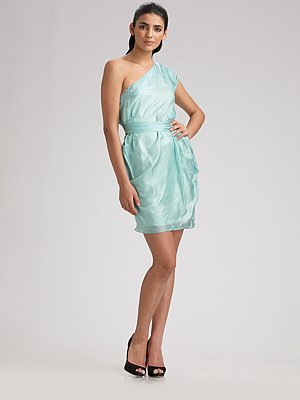 brian-reyes-one-shoulder-pleated-silk-dress