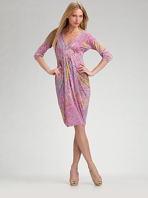 etro-paisley-print-v-neck-dress