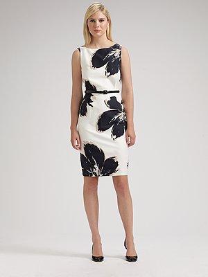 maxmara-floral-print-dress