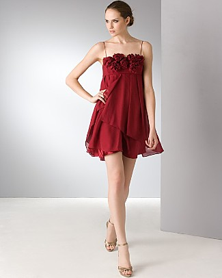 aidan_mattox_short_chiffon_ruffled_dress