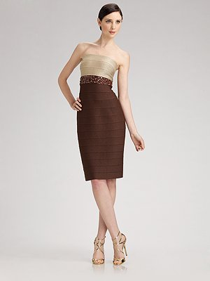 carmen_marc_valvo_strapless_two_tone_dress