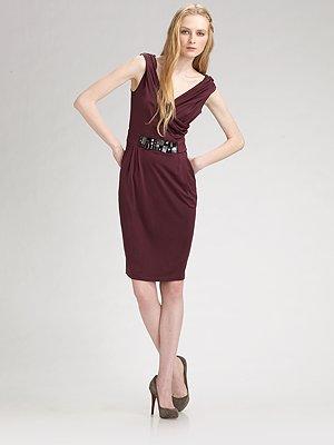 catherine_malandrino_draped_v_neck_dress