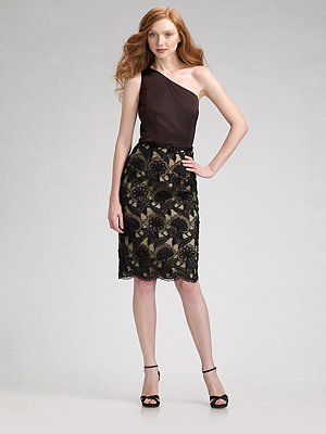 david_meister_one_shoulder_cocktail_dress